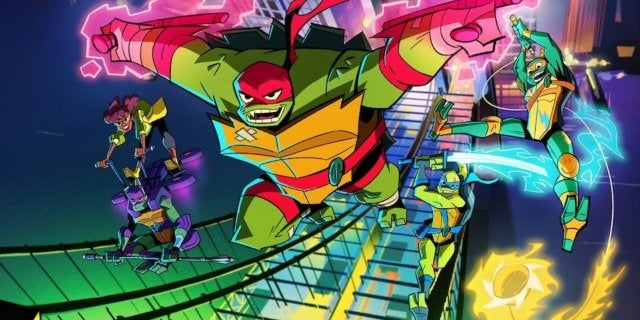 rise of the teenage mutant ninja turtles series
