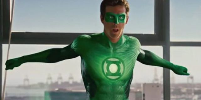 Ryan Reynolds Green Lantern Prototype Mask