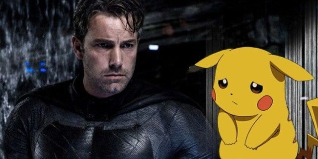 sad batman and pikachu