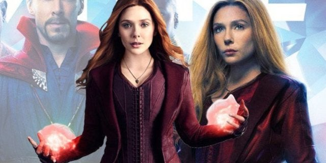Scarlet Witch Empire Avengers Infintiy War Photoshop