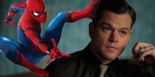 spider-man matt damon