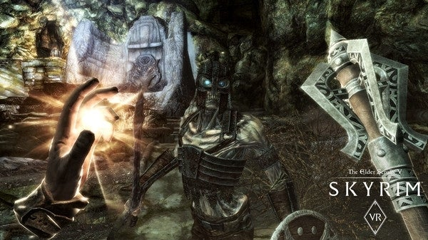 Skyrim VR to Arrive on Steam in April