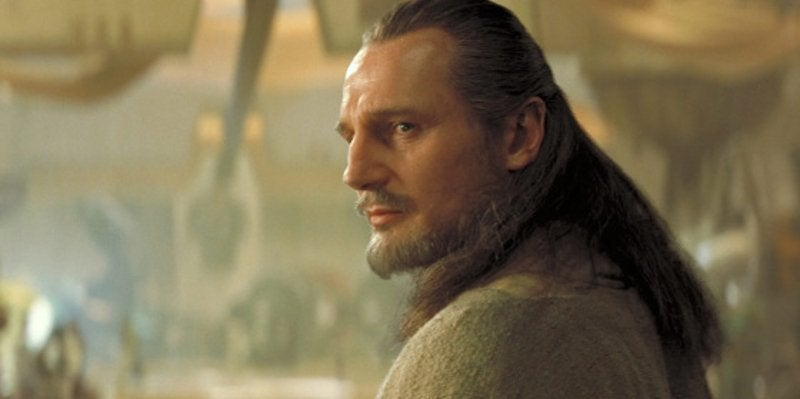 Star Wars Animated Series Qui Gon Jin