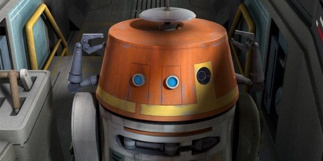 star wars rebels chopper droid voice
