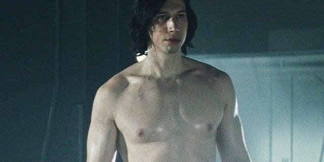 star wars the last jedi kylo ren shirtless