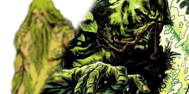 Swamp Thing Justice League Dark 2018