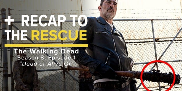 "The Walking Dead 8x11 ""Dead or Alive Or"" - Recap to the Rescue screen capture"
