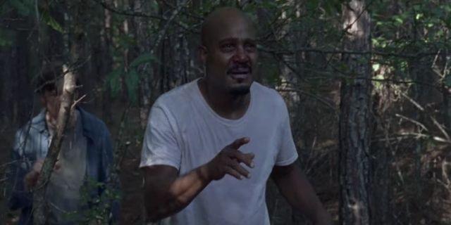 The Walking Dead Father Gabriel sick