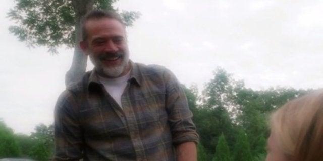 The Walking Dead Negan Carl future