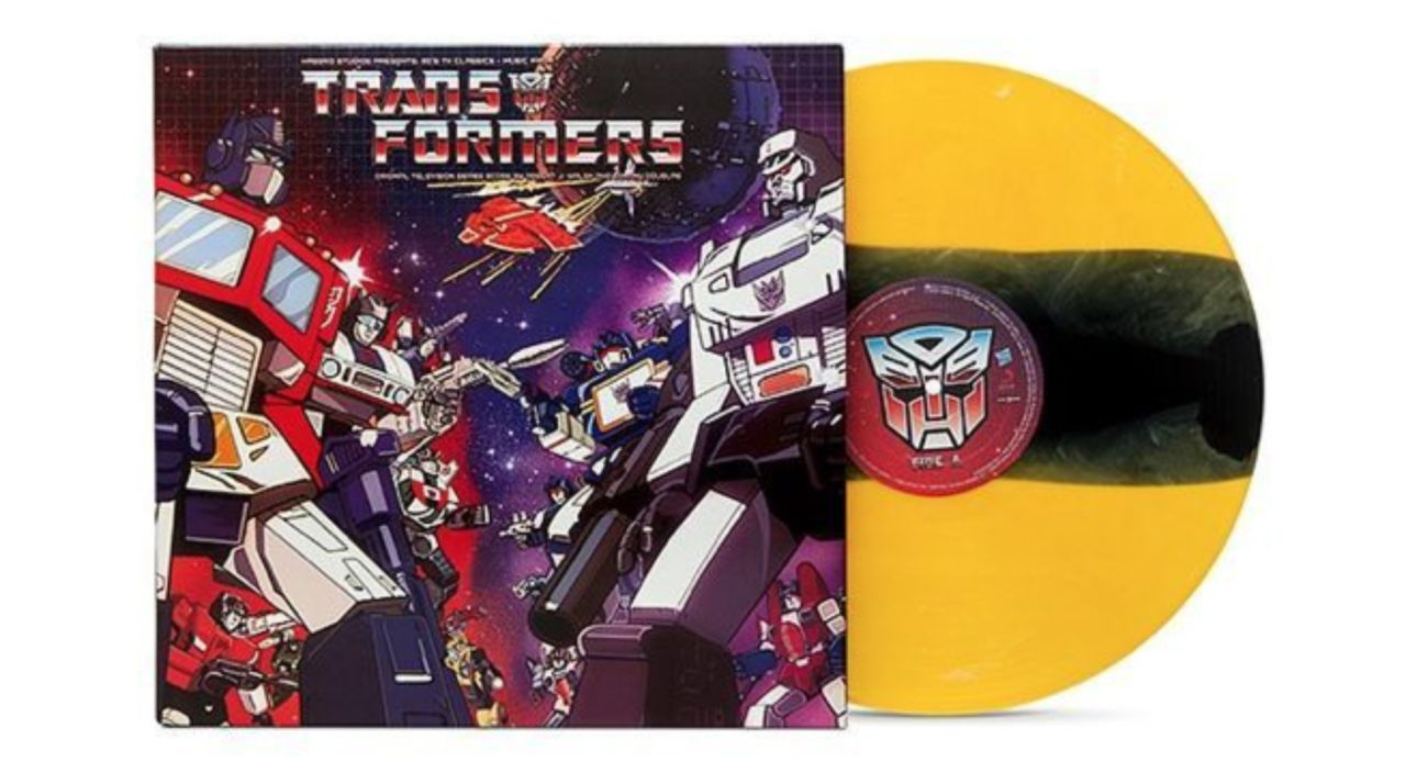 the classic 'transformers' vinyl soundtrack is ready to roll out