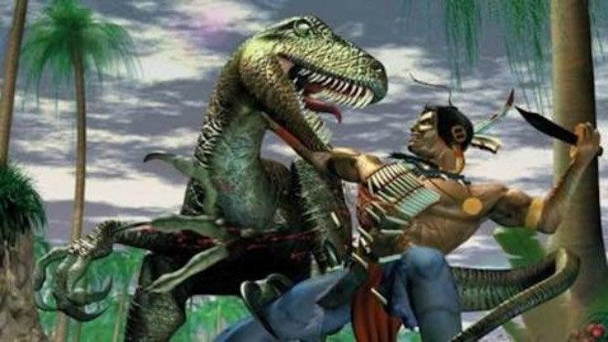turok dinosaur hunter turok 2 seeds of evil xbox one review dino