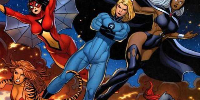 Women Artists Fantastic Four - Cover