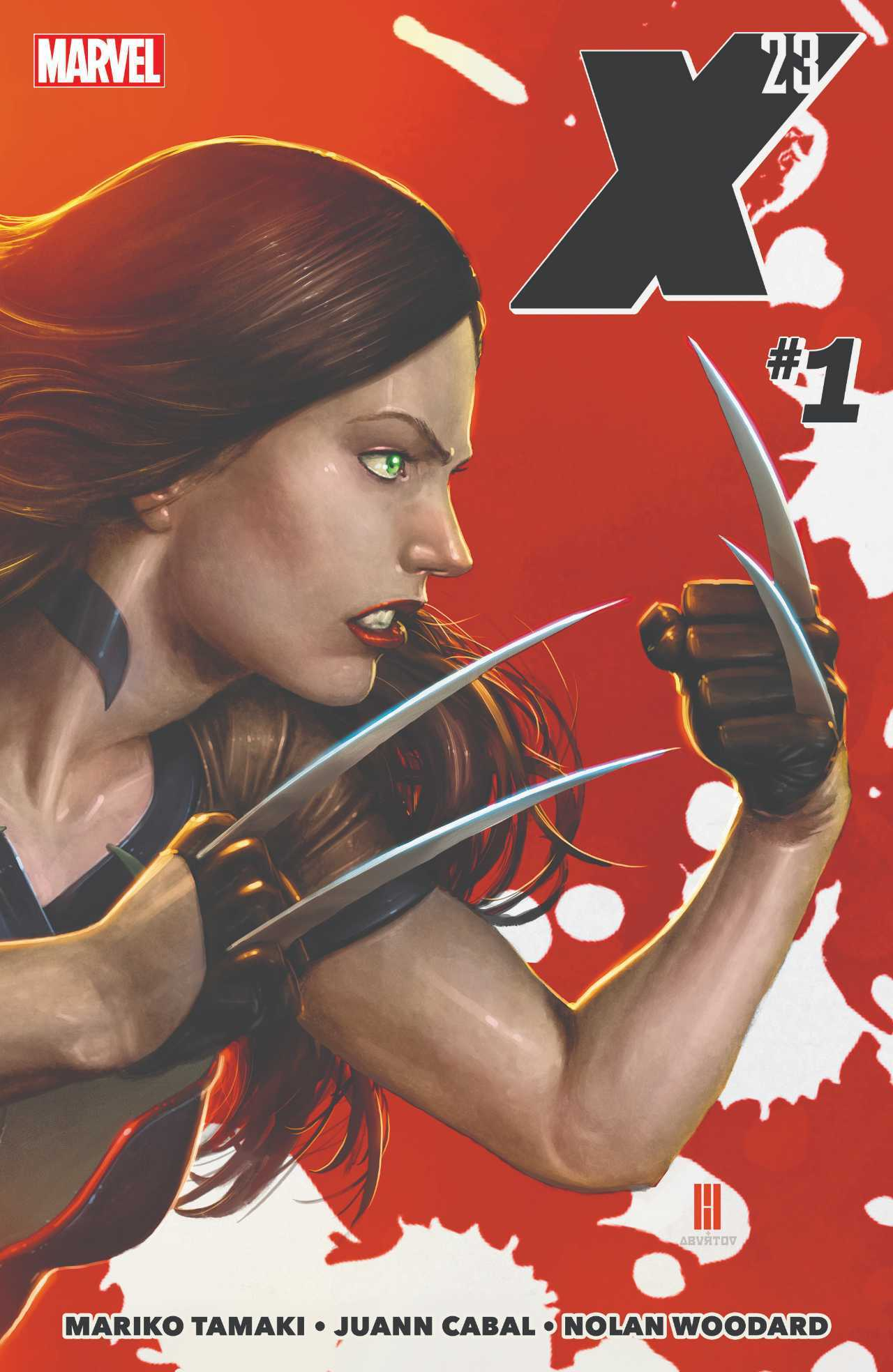 X-23 #1 Cover