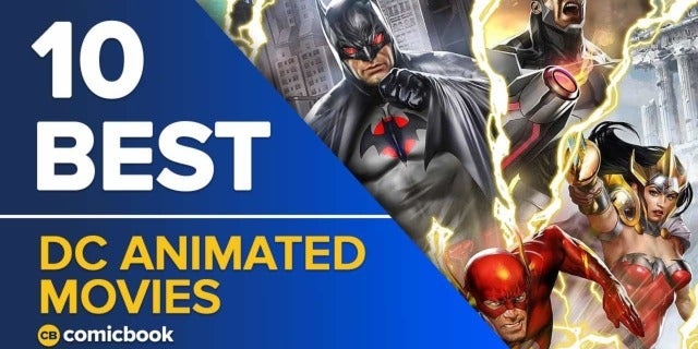 10 Best Animated DC Movies