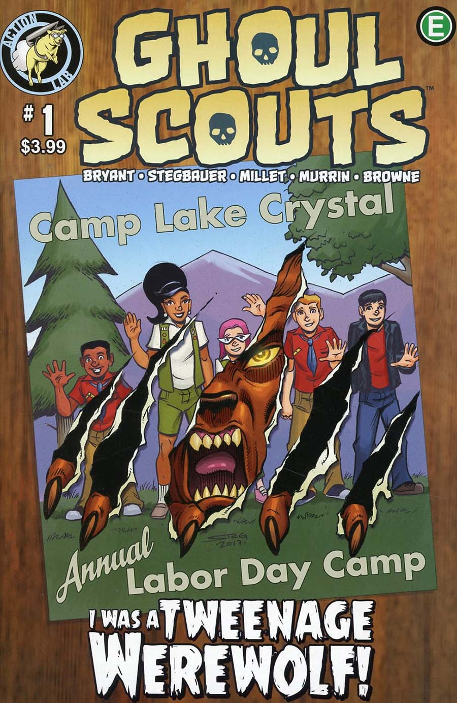 Ghoul Scouts: I Was A Teenage Werewolf (2019) Issue 1