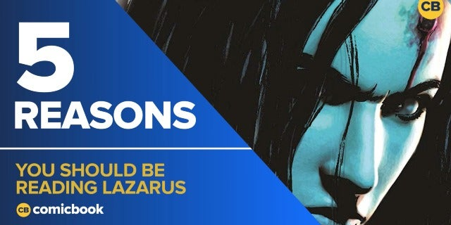 5 Reasons You Should Be Reading Lazarus screen capture
