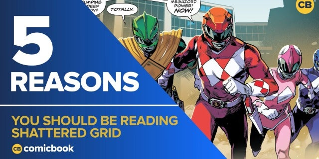 5 Reasons You Should Be Reading Power Rangers: Shattered Grid screen capture