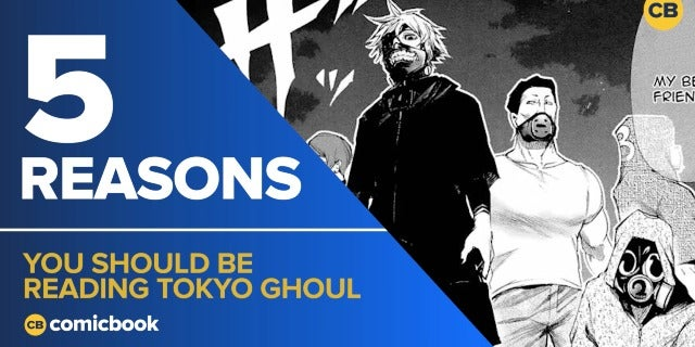 5 Reasons You Should Be Reading Tokyo Ghoul screen capture