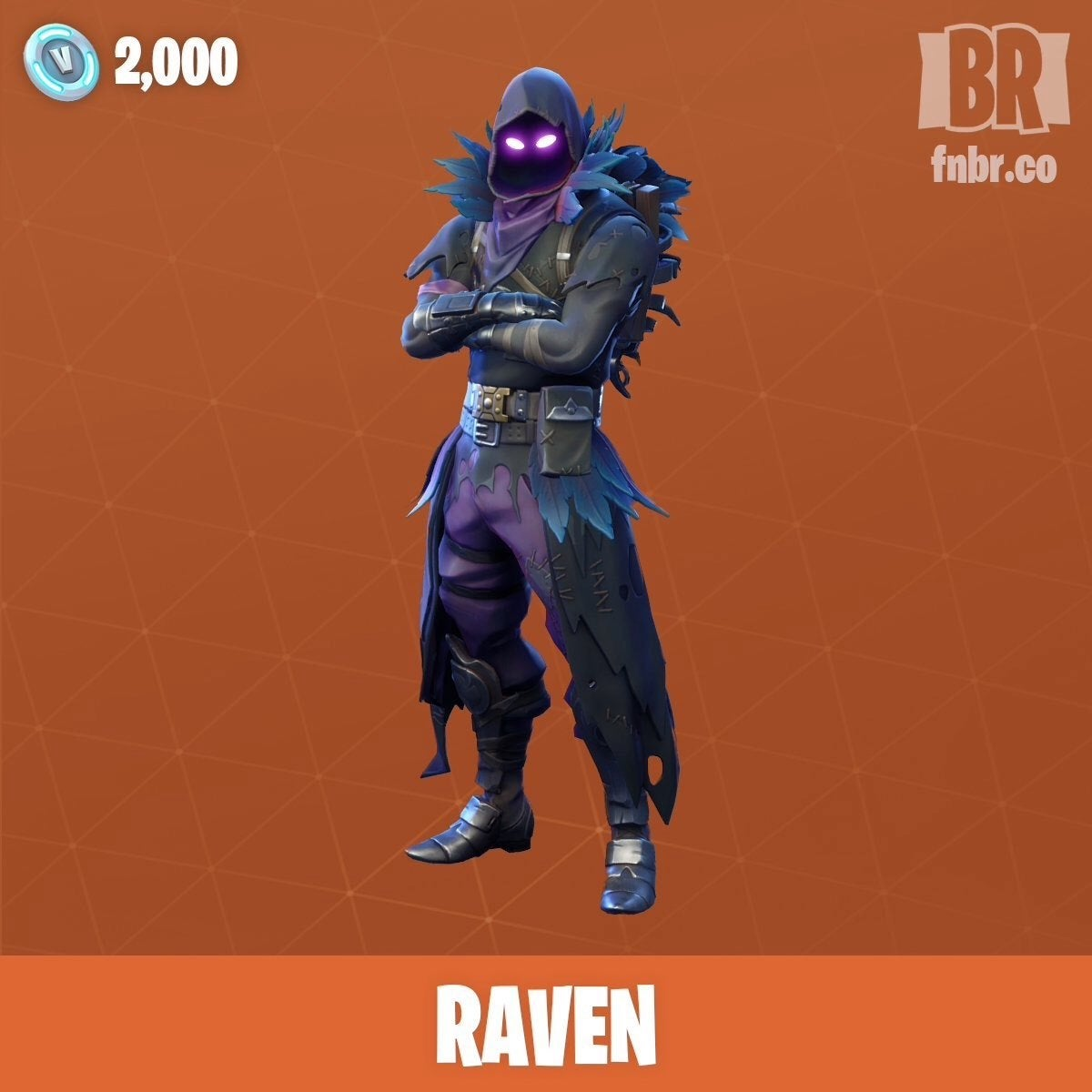 how to draw raven from fortnite no lines