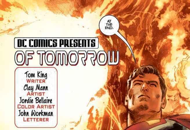 Action Comics #1000 Stories Ranking - Of Tomorrow