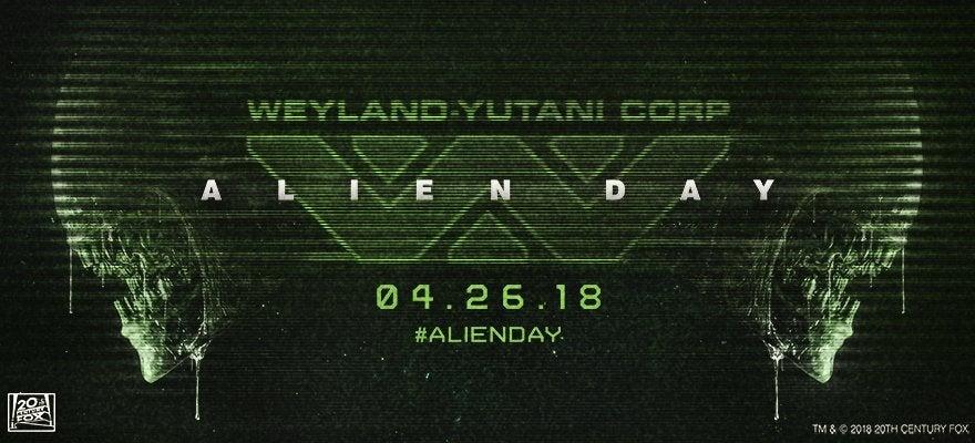 alien day 2018 xenomorph 2