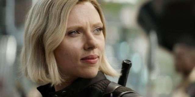 Avengers Infinity War After - Black Widow