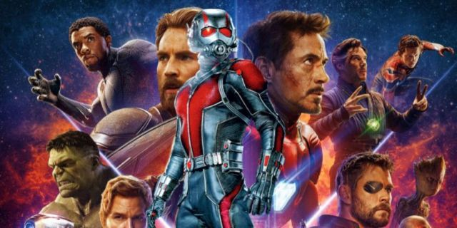 Avengers Infinity War Ant Man