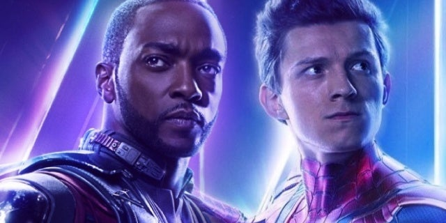 avengers infinity war anthony mackie tom holland