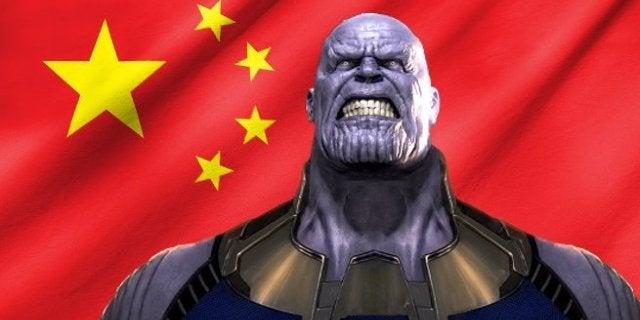 Avengers Infinity War Box Office China