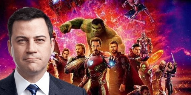 Avengers Infinity War Cast Jimmy Kimmel