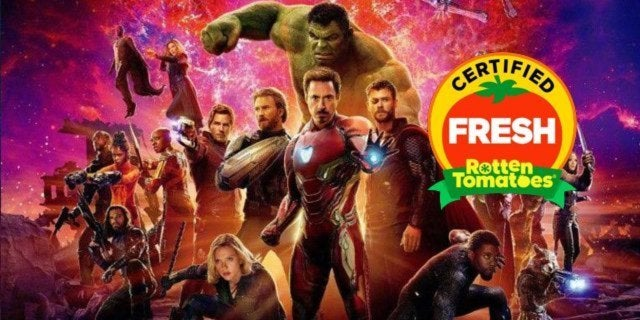 avengers infinity war certified fresh