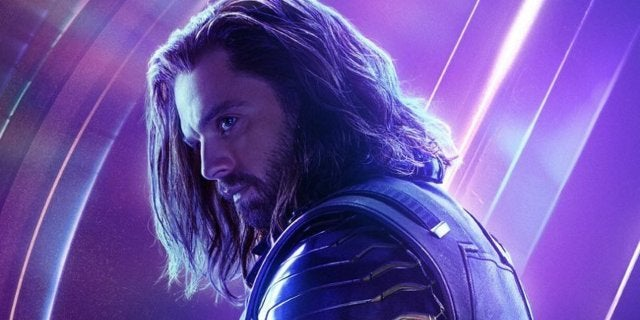 Avengers Infinity War Character Posters - Bucky Winter Soldier
