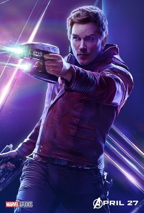 Avengers Infinity War Character Posters - Star-Lord