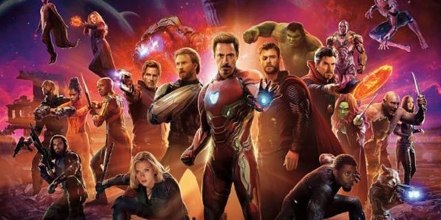 avengers infinity war how many heroes
