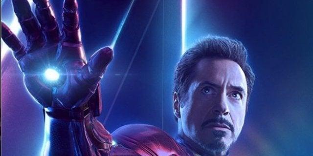 Avengers Infinity War Iron Man Character Header