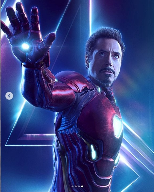 Robert Downey Jr. Reveals 'Avengers: Infinity War' Iron