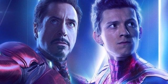 avengers infinity war iron man spider man