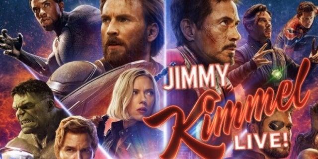 avengers infinity war jimmy kimmel live