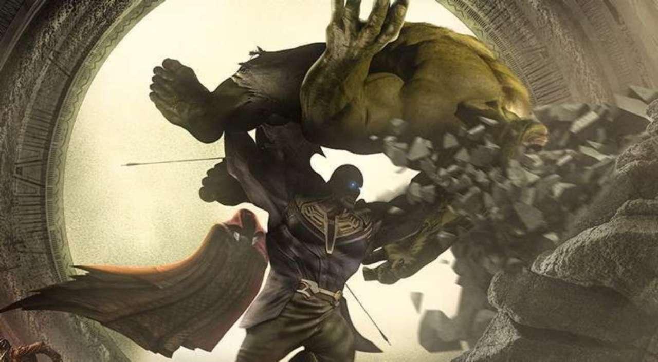 hulk vs thanos infinity war ile ilgili görsel sonucu