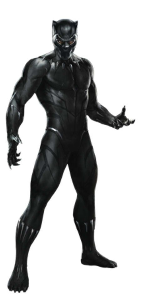 Avengers Infinity War Promo Art - Black Panther