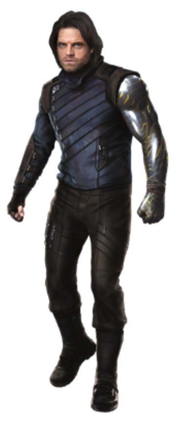 Avengers Infinity War Promo Art - Bucky
