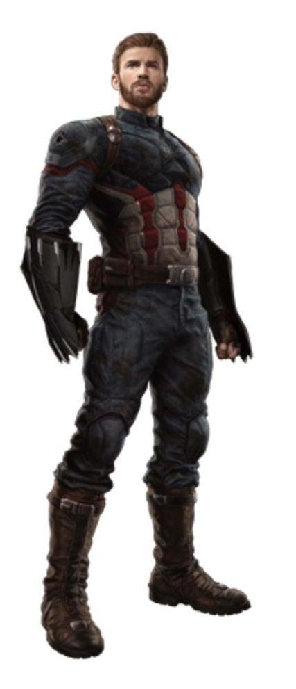 Avengers Infinity War Promo Art - Captain America
