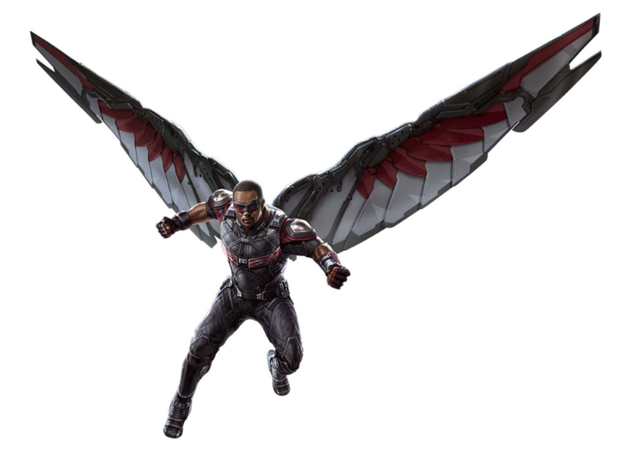 Avengers infinity war promo art shows best look at black - Faucon avengers ...