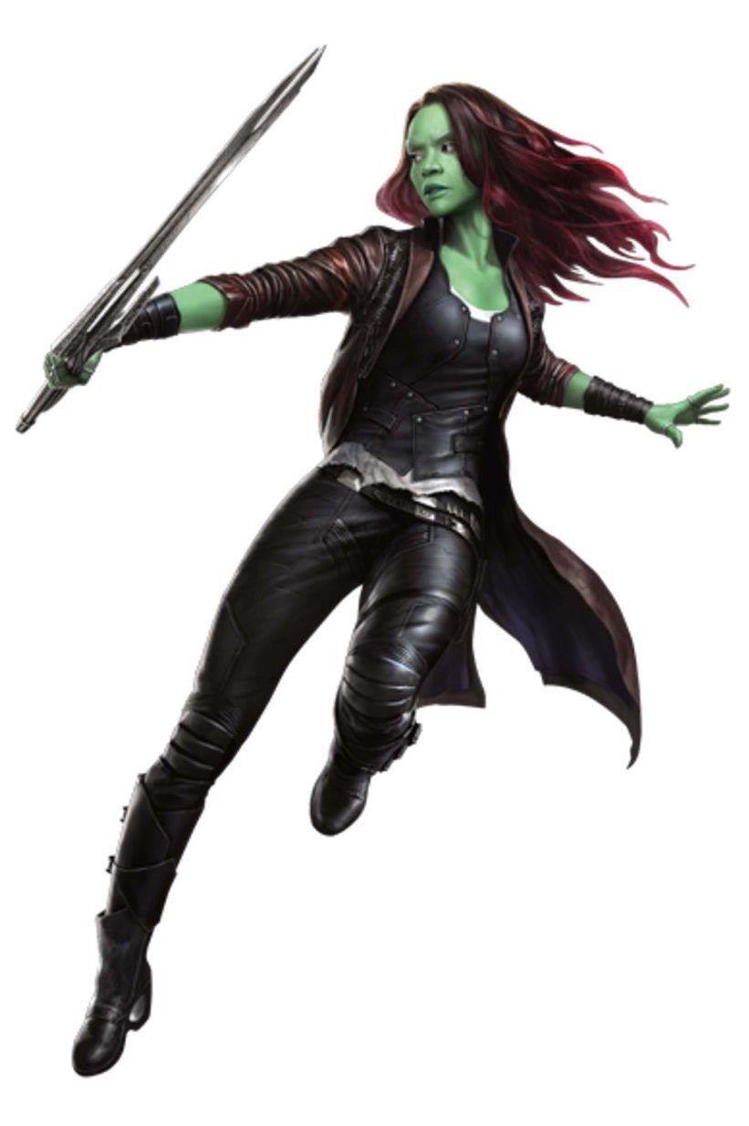 Avengers Infinity War Promo Art - Gamora