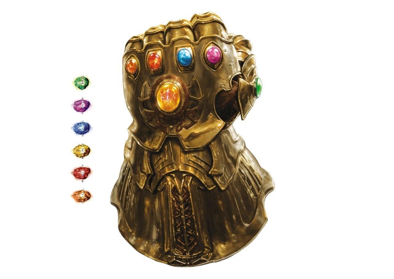 Avengers Infinity War Promo Art - Inifnity Gauntlet