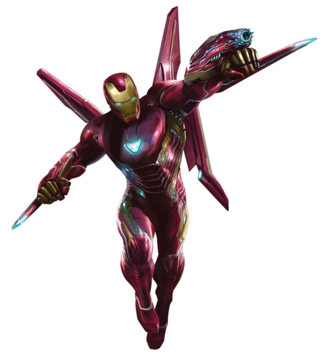 Avengers Infinity War Promo Art - Iron Man Bleeding Edge Armor