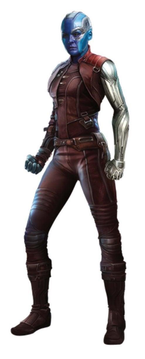 Avengers Infinity War Promo Art - Nebula
