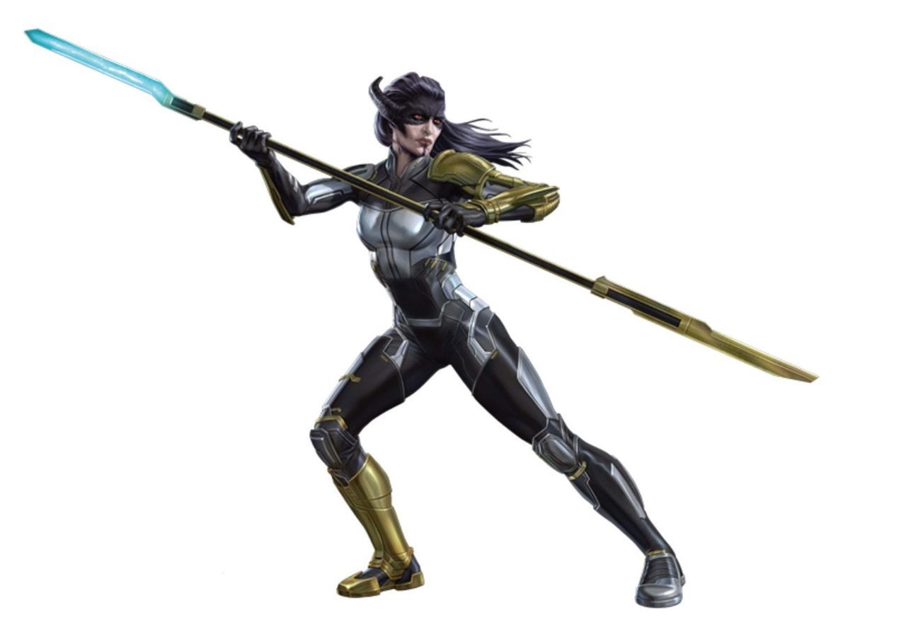 Avengers Infinity War Promo Art - Proxima Midnight