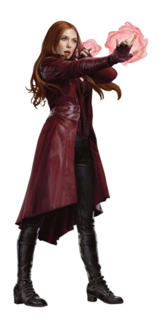 Avengers Infinity War Promo Art - Scarlet Witch