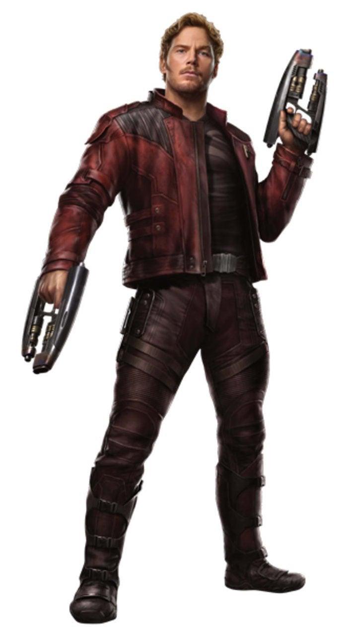 Avengers Infinity War Promo Art - Star-Lord